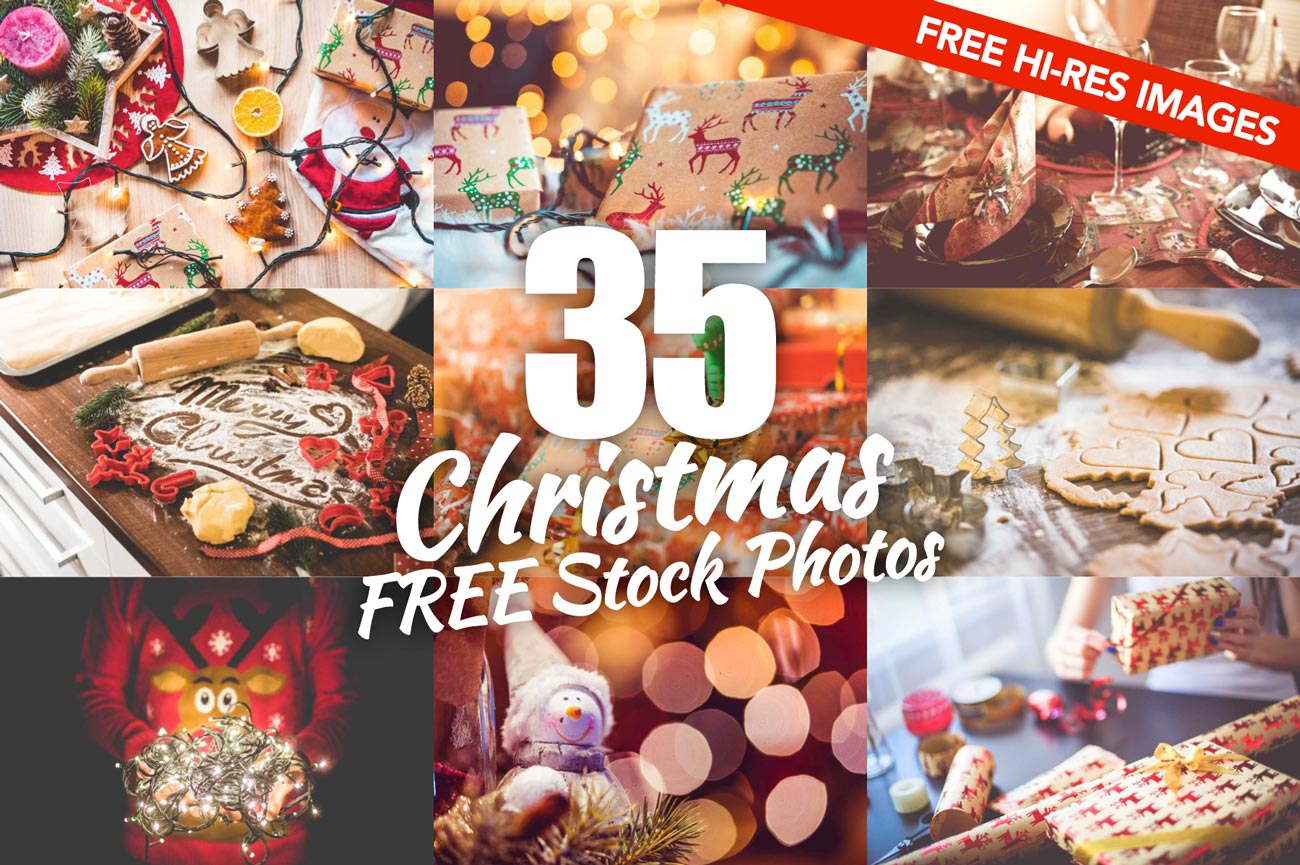 35 Best FREE Christmas Images For Your Designs or Blog Posts — picjumbo BLOG