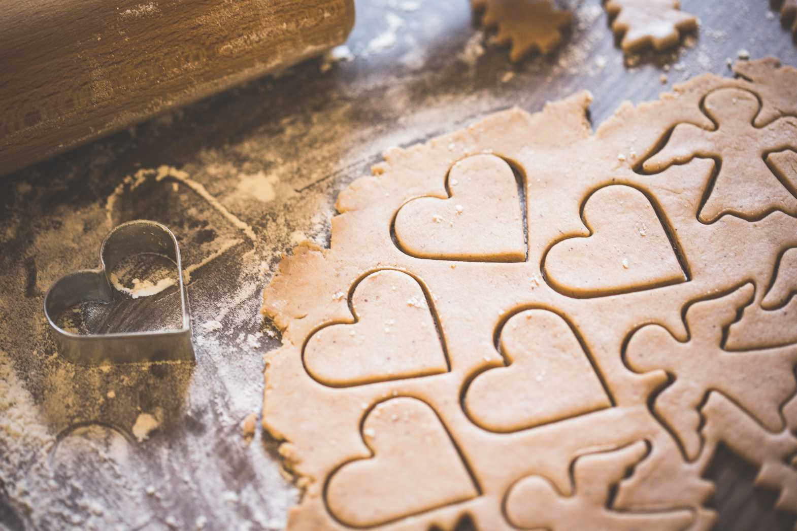 christmas baking free stock image