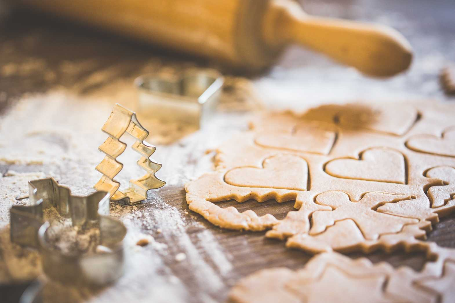christmas baking sweet yummy free photo