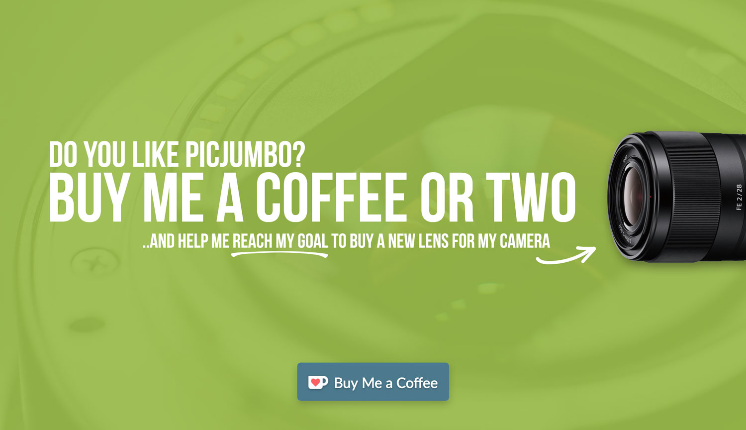 Do you like picjumbo? Buy me a coffee or two! — picjumbo BLOG