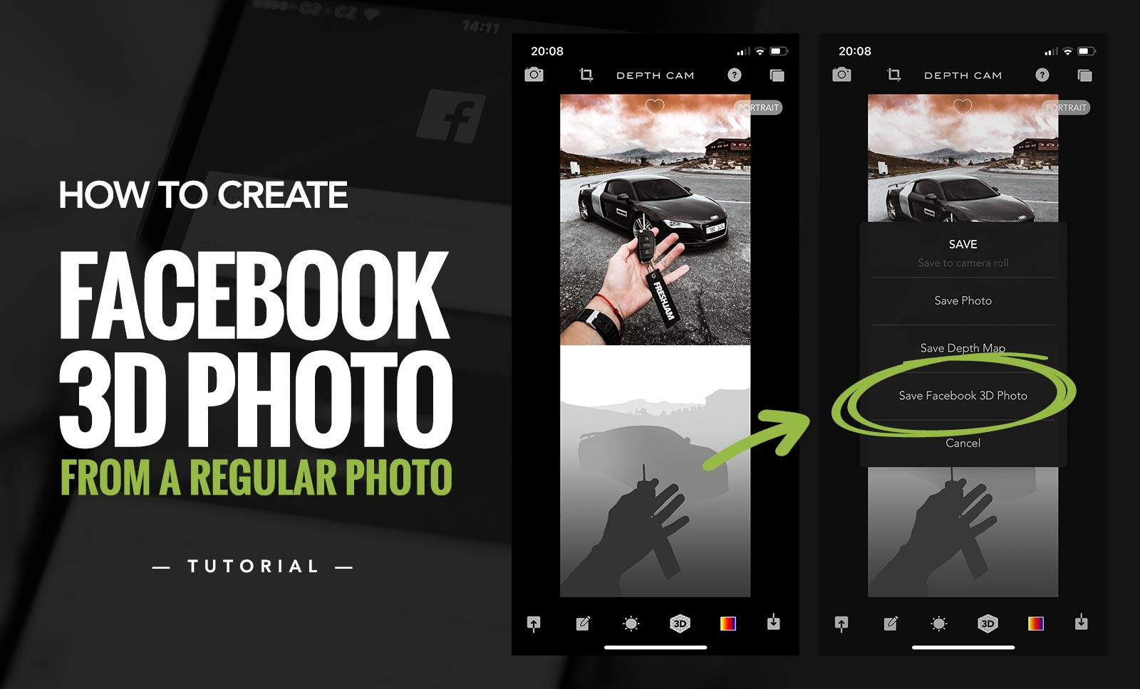 How To Create Facebook 3D Photo From a Regular Photo | picjumbo blog