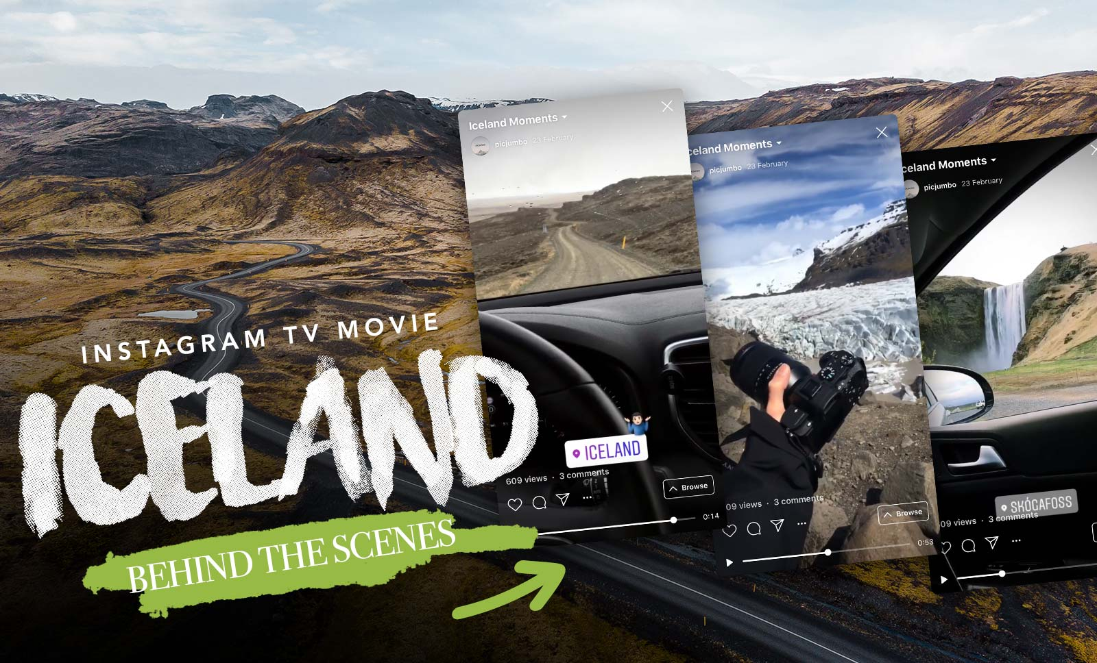 New Behind The Scenes Video: Iceland — picjumbo BLOG
