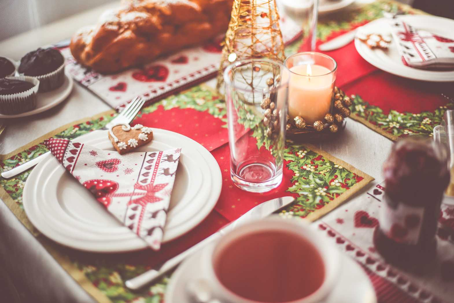 morning table decoration setting free hd image download