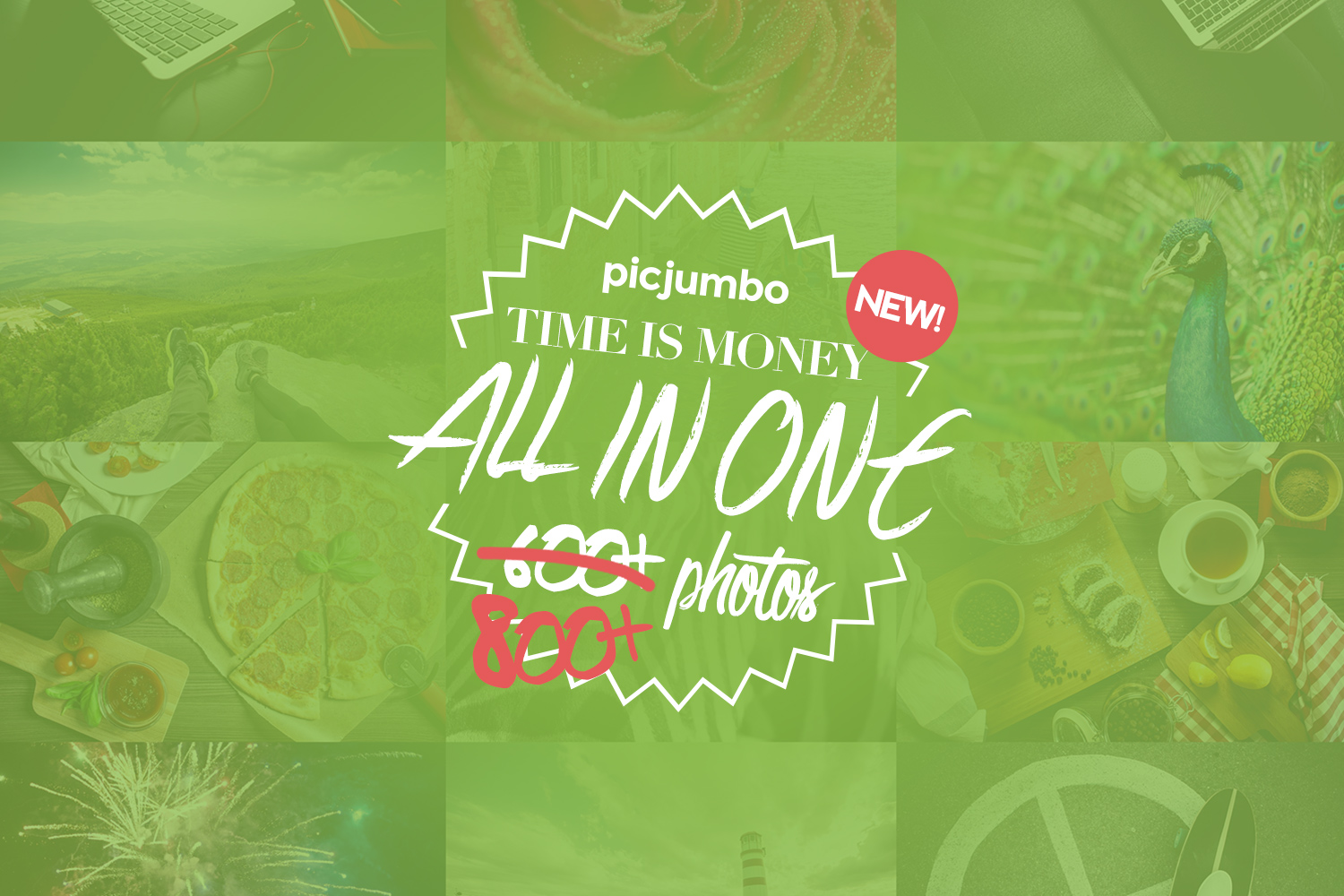 New version of All in One Pack is here: 800+ images! — picjumbo BLOG