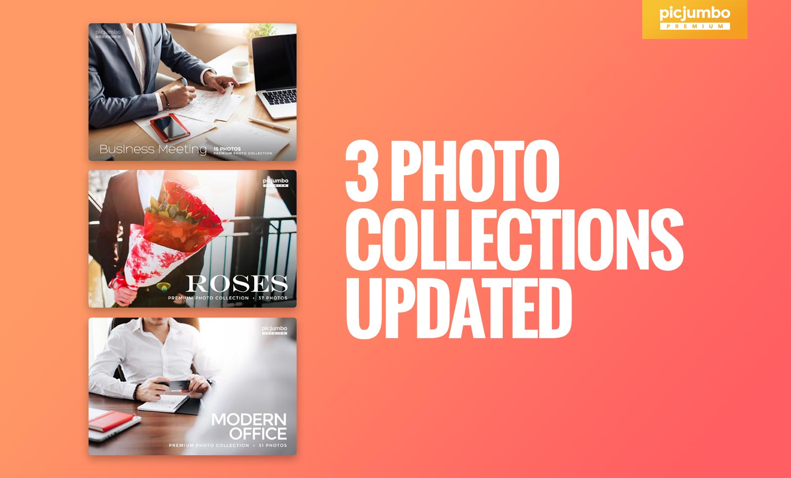 3 PREMIUM Photo Collections Updated! — picjumbo BLOG