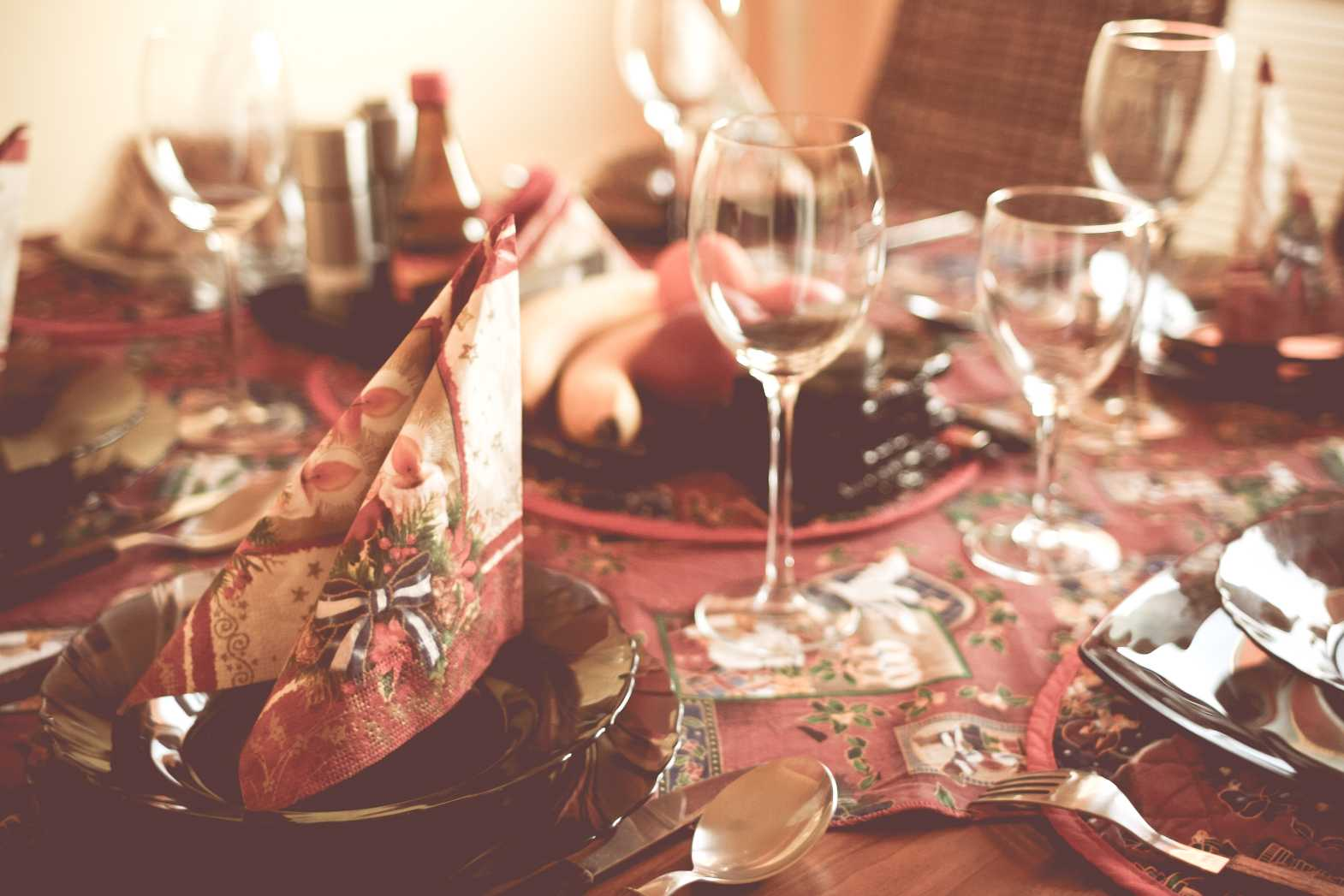 table setting free stock image download